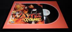 Lil Wayne Signed Framed 2002 500 Degreez Record Album Display