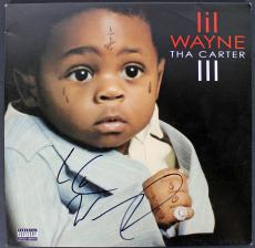 Lil Wayne Signed Tha Carter III Album Cover W/ Vinyl JSA #Y52423