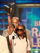 """Lil Wayne Weezy """"Dwayne Carter"""" 2009 Grammy Awards Signed 11x14 Photo Jsa"""