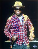 "Lil Wayne Weezy ""Dwayne Carter"" Signed 11x14 Photo Psa/Dna AA11217"