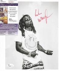 Lil Wayne Weezy Music Legend Signed Autograph 8x10 Promo Photo Jsa Coa #t67801