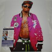 Lil Wayne, Weezy, Weezy F Baby, Tunechi Hand Signed   Autographed 11 x 14 Photo - 3