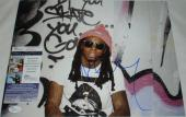 Lil Wayne, Weezy, Weezy F Baby, Tunechi Hand Signed   Autographed 11 x 14 Photo - 6
