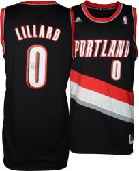 Damian Lillard Portland Trail Blazers Autographed adidas Swingman Black Jersey