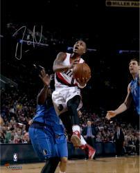 "Damian Lillard Portland Trail Blazers Autographed 16"" x 20"" Underhand Photograph"