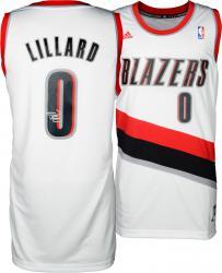 Damian Lillard Portland Trail Blazers Autographed adidas Swingman White Jersey