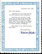 Lillian Gish Jsa Authenticated Signed Handwritten Letter Autograph