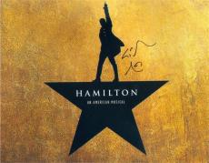 Lin Manuel Miranda autographed 8x10 photo (Hamilton Broadway Play) Image #SC6