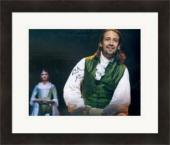 Lin Manuel Miranda autographed 8x10 photo (Hamilton Broadway Play) #SC12 Matted & Framed