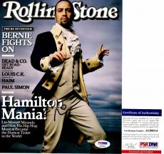 Lin-Manuel Miranda Signed - Autographed HAMILTON 8x10 inch Photo with PSA/DNA Authenticity - Lin Manuel Miranda