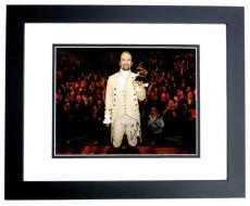 Lin-Manuel Miranda Signed - Autographed HAMILTON as Alexander Hamilton Broadway 11x14 inch Photo BLACK CUSTOM FRAME - Lin Manuel Miranda - Guaranteed to pass PSA or JSA