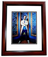 Lin-Manuel Miranda Signed - Autographed HAMILTON as Alexander Hamilton Broadway 11x14 inch Photo MAHOGANY CUSTOM FRAME - Lin Manuel Miranda - Guaranteed to pass PSA or JSA