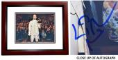 Lin-Manuel Miranda Signed - Autographed HAMILTON as Alexander Hamilton Broadway 11x14 inch Photo MAHOGANY CUSTOM FRAME - Lin Manuel Miranda - Guaranteed to pass PSA or JSA