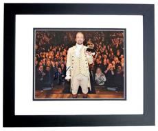 Lin-Manuel Miranda Signed - Autographed HAMILTON as Alexander Hamilton Broadway 8x10 inch Photo BLACK CUSTOM FRAME - Lin Manuel Miranda - Guaranteed to pass PSA or JSA