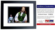 Lin-Manuel Miranda Signed - Autographed HAMILTON as Alexander Hamilton Broadway 8x10 inch Photo BLACK CUSTOM FRAME - Lin Manuel Miranda - with PSA/DNA Certificate of Authenticity (COA)