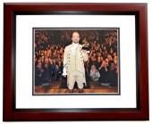 Lin-Manuel Miranda Signed - Autographed HAMILTON as Alexander Hamilton Broadway 8x10 inch Photo MAHOGANY CUSTOM FRAME - Lin Manuel Miranda - Guaranteed to pass PSA or JSA