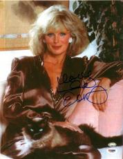 Linda Evans Autographed Photo - 11x14 PSA/DNA - Damaged