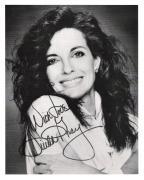 "LINDA GRAY Best Known as SUE ELLEN EWING on TV Series ""DALLAS"" Signed 8x10 B/W Photo"