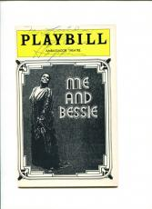 Linda Hopkins Jazz Blues Singer Rare Me And Bessie Signed Autograph Playbill
