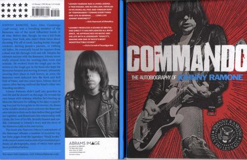 Linda Ramone Johnny Wife Widow Autographed Signed Commando Autobiography AFTAL U