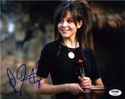 Lindsey Stirling Autographed Signed 8x10 Photo Certified Authentic PSA/DNA COA