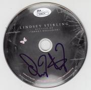 Lindsey Stirling Signed Shatter Me CD W/JSA COA N08634