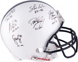 Penn State Linebacker U Autographed Authentic Helmet - Lee, Conlan, Ham, Arrington, Posluszny, Martin