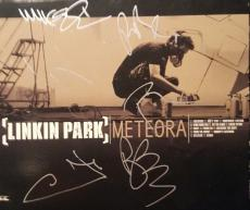 Linkin Park Chester Bennington Band Signed Meteora CD PSA/DNA AUTHENTIC