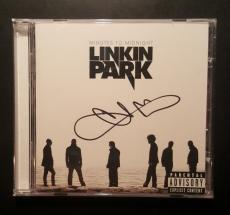 Linkin Park Chester Bennington Signed Minutes To Midnight CD PSA/DNA AUTHENTIC