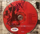 Linkin Park Chester Bennington Mike Shinoda Signed Hybrid Theory CD PSA/DNA