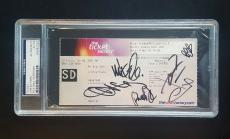 Linkin Park Chester Bennington Signed Autographed Ticket Stub PSA/DNA AUTHENTIC