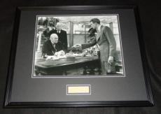 Lionel Barrymore Signed Framed 16x20 Photo Display It's a Wonderful Life
