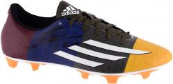 Lionel Messi FC Barcelona Autographed Barcelona Themed Boot