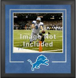 Detroit Lions Deluxe 16'' x 20'' Horizontal Photograph Frame with Team Logo - Mounted Memories