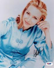 Lisa Kudrow Signed Friends Authentic Autographed 8x10 Photo PSA/DNA #X06666