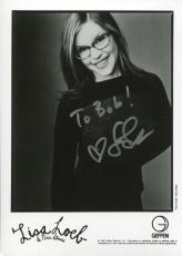 LISA LOEB HAND SIGNED 5x7 PHOTO+COA         BEAUTIFUL SINGER         TO BOB