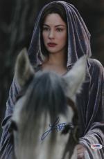 Liv Tyler Autographed 11x14 PSA/DNA