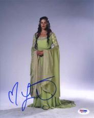 Liv Tyler Lord of the Rings Autographed Signed 8x10 Photo Certified PSA/DNA COA