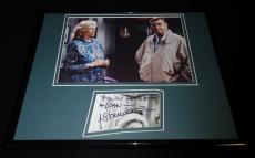 Liz Sheridan Signed Framed 11x14 Photo Display Seinfeld Mom