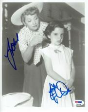 Liza Minnelli Signed Authentic 8x10 Photo w/Lucille Ball (PSA/DNA) #P45404