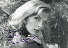 Lizabeth Scott Actress In Loving You With Elvis Presley Signed Photo Autograph