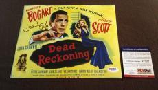 Lizabeth Scott Signed 8x10 photograph PSA DNA Authentic RARE HOT Humphrey Bogart
