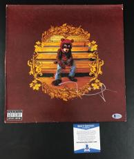 L@@k Kanye West Signed Authentic Autograph College Dropout Vinyl Album Lp Bas