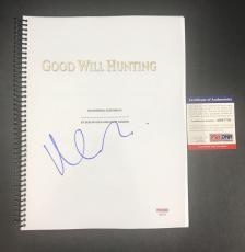L@@k Matt Damon Signed Autographed Good Will Hunting Full Movie Script Psa Coa