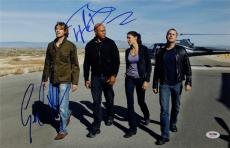 LL Cool J Eric Christian Olsen Signed NCIS Los Angeles 11x17 Photo PSA X82100