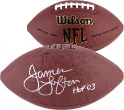 James Lofton Green Bay Packers Fanatics Authentic Autographed Replica Football