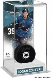 Logan Couture San Jose Sharks Deluxe Tall Hockey Puck Case