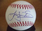 Logan Shore Oakland A's Signed Autographed M.l. Baseball W/coa