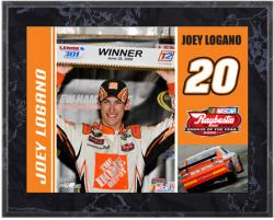 Joey Logano 2009 Nascar Rookie of the Year Sublimated 8x10 Plaque - Mounted Memories