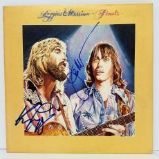 """LOGGINS & MESSINA Signed Autographed """"FINALE"""" Album LP PSA/DNA #Y67049"""